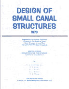 DESIGN OF SMALL CANAL STRUCTURES Book image