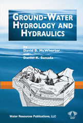 GROUND-WATER HYDROLOGY&HYDRAULICS Book image