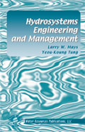 HYDROSYSTEMS ENGINEERING & MANAGEMENT Book image