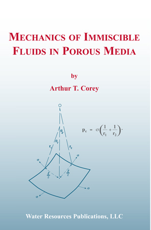 MECHANICS OF IMMISCIBLE FLUIDS IN POROUS MEDIA Book image