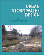 URBAN STORM WATER DESIGN Book image