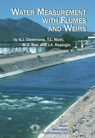 WATER MEASUREMENT WITH FLUMES AND WEIRS Book image